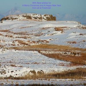 Haunn wetland area Rum in distance