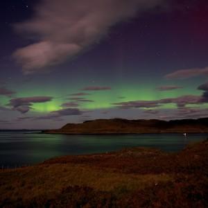 Aurora-borealis-Treshnish-Mull
