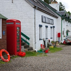Boathouse Ulva Mull cottages