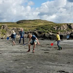 Playing Mull beaches