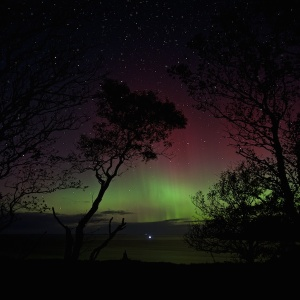 Mull northern lights heaven