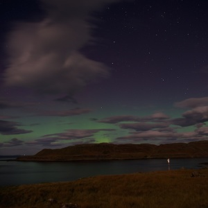 Mull northern lights night skies