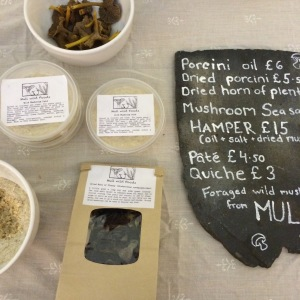 Mull producers Wild food