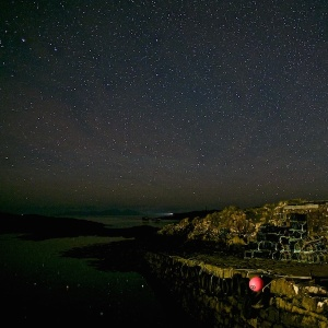 Stars on Mull with buoy