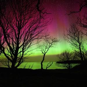Aurora activity April Mull
