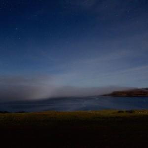 Mull moonbow Treshnish dark skies