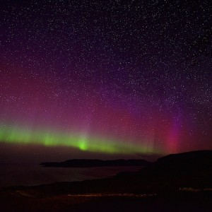 Mull cottages Northern lights