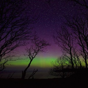 Northern lights Mull cottages