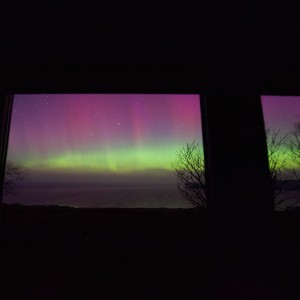 time lapse northern lights mull