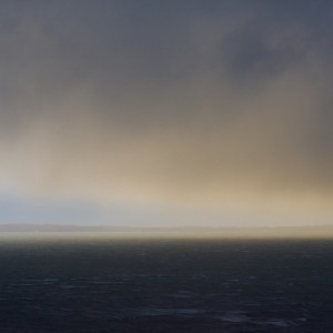 Mull winter seascape