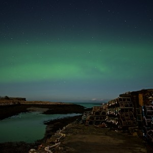 Croig night aurora Mull