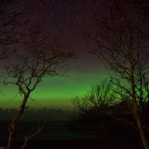 Hogmanay aurora