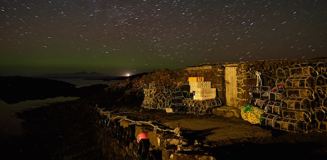 Scottish Rural Awards Mull aurora Croig