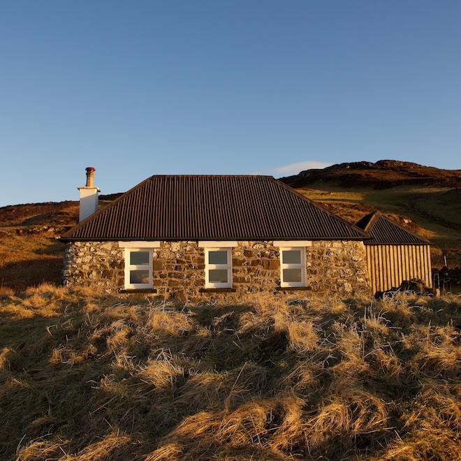 West Mull cottages Turus Mara