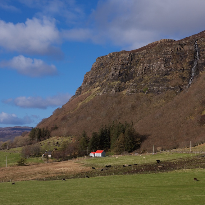 Iona Day out Gribun Treshnish Mull cottages