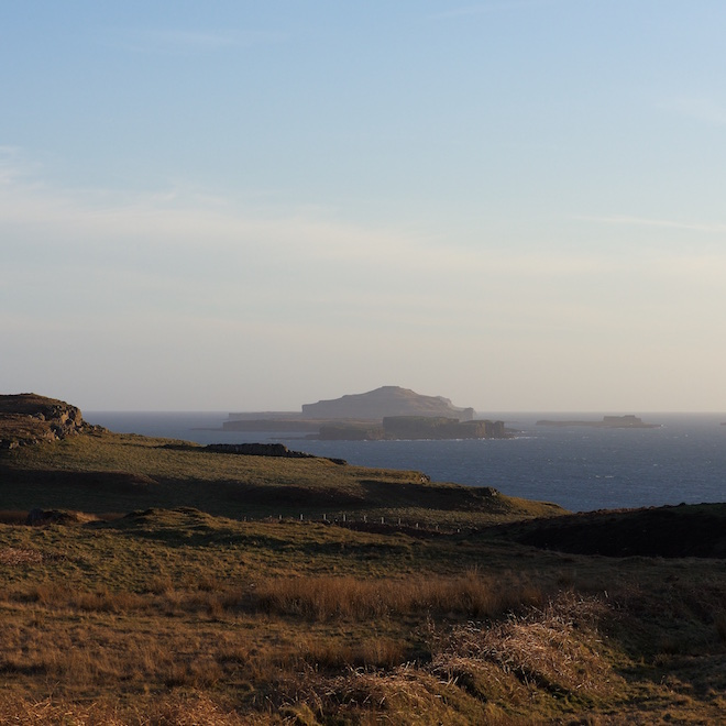 Treshnish Isles cottages evening 2017 bookings