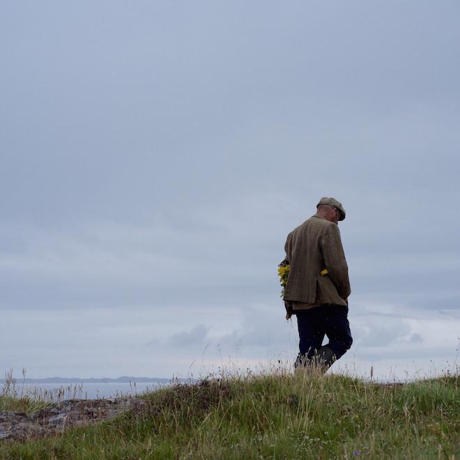 Mull summer ragwort tweed coat