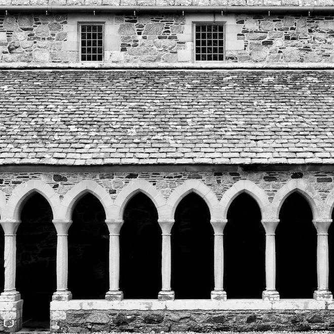 Treshnish Mull cottages Iona Abbey