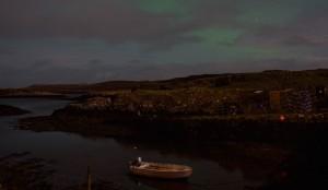 Croig aurora borealis time-lapse