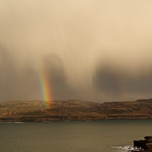 Christmas on Mull with rainbows