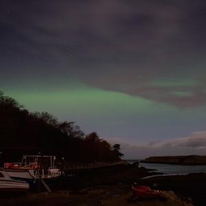 island lass aurora borealis time-lapse