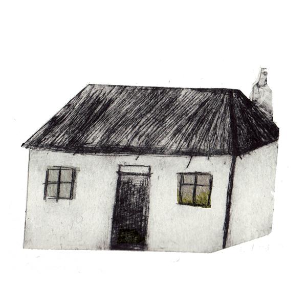 Treshnish Mull - Thatch cottage