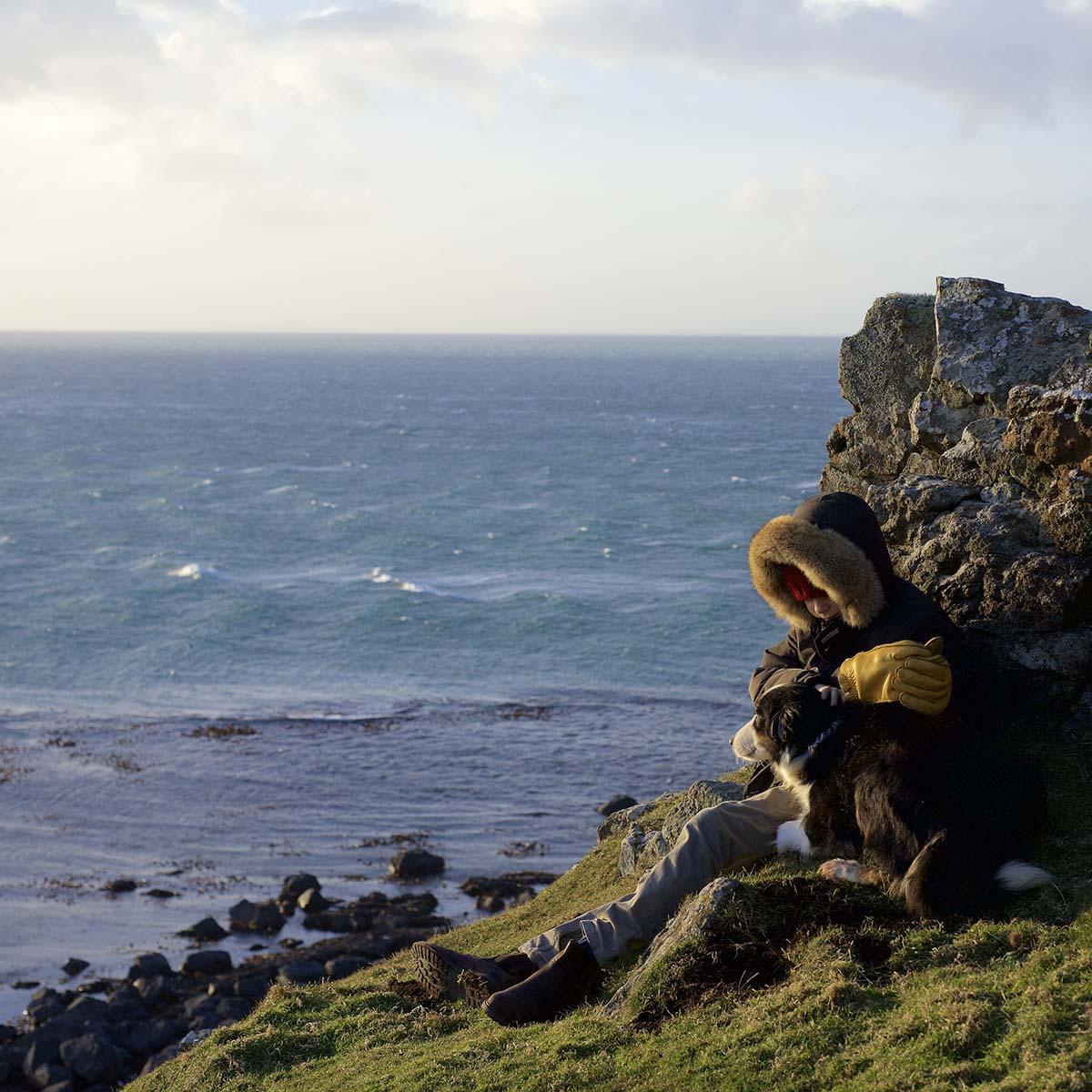 Treshnish, Mull, self-catering, winter walks with dog