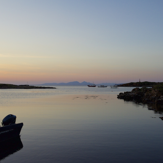 Treshnish Cottages Mull Croig favourite places to watch sunset