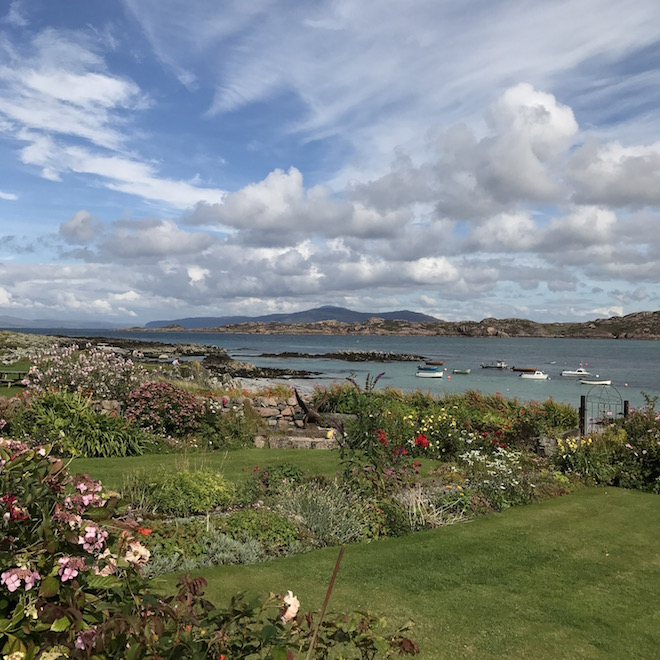 Treshnish Cottages Mull day trip Iona Gardens