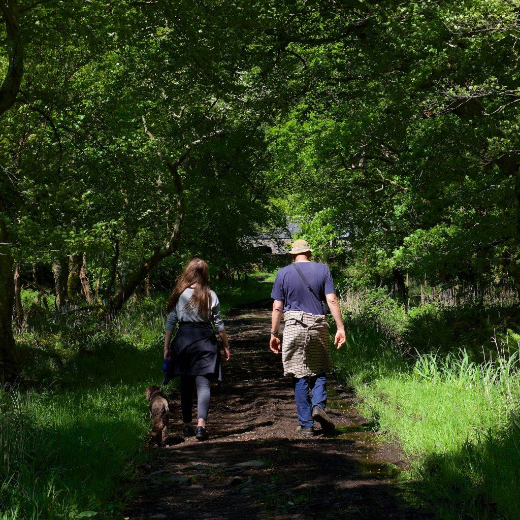 land based wildlife trips Ulva walks