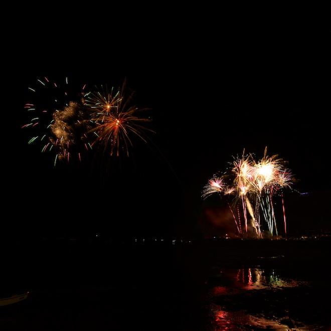 Mull Treshnish Cottages New Year fireworks
