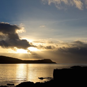 Winter nights on Mull