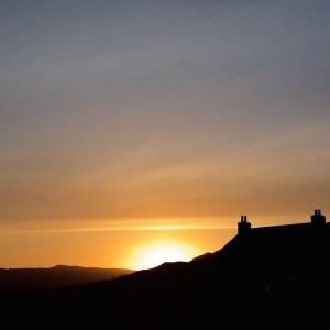 Treshnish sunset