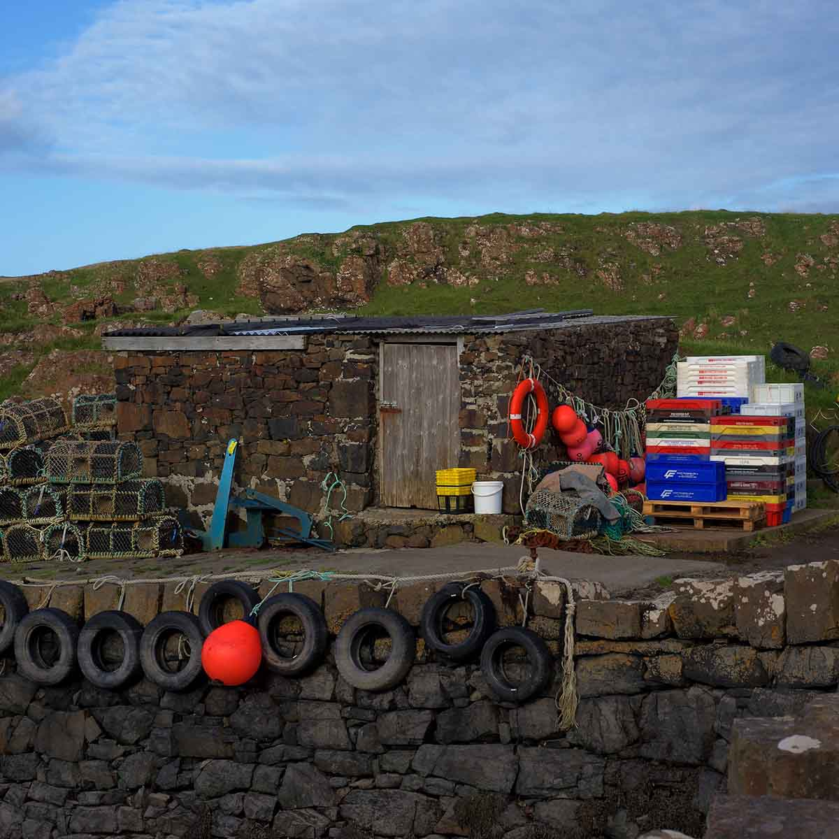 Treshnish, Mull, self-catering, fishing equipment