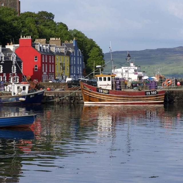 Treshnish, Mull, self-catering, Tobermory harbour