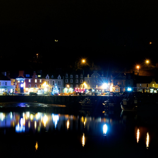 Tobermory Christmas Lights