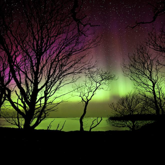Aurora hunting what to expect Treshnish Mull cottages