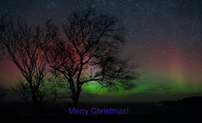 Merry Christmas 2017 Treshnish cottages Mull
