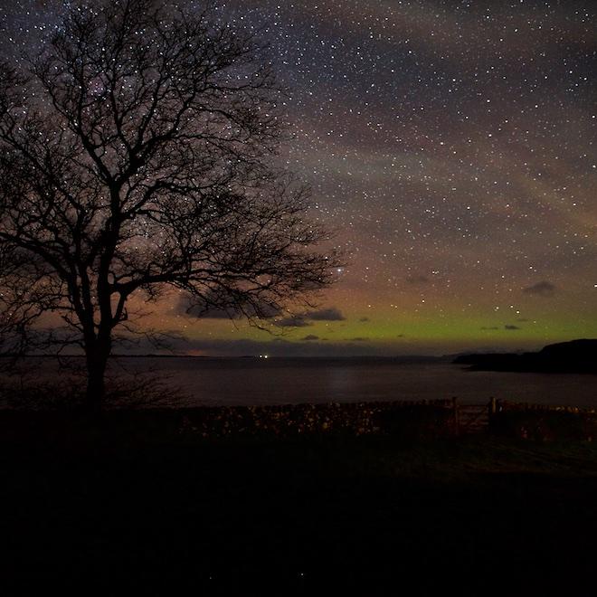 camera aurora hunting what to expect mull treshnish cottages