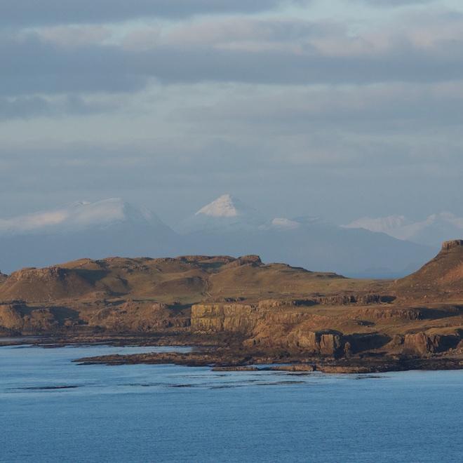 Treshnish Mull Cottages Sea views Rum