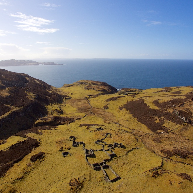 top walks on Mull treshnish headland