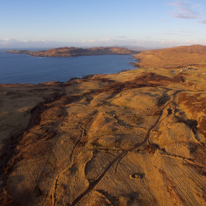 top walks on mull treshnish cottages sunset