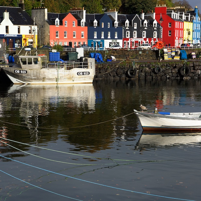 Tobermory Book Festival Treshnish Mull cottages