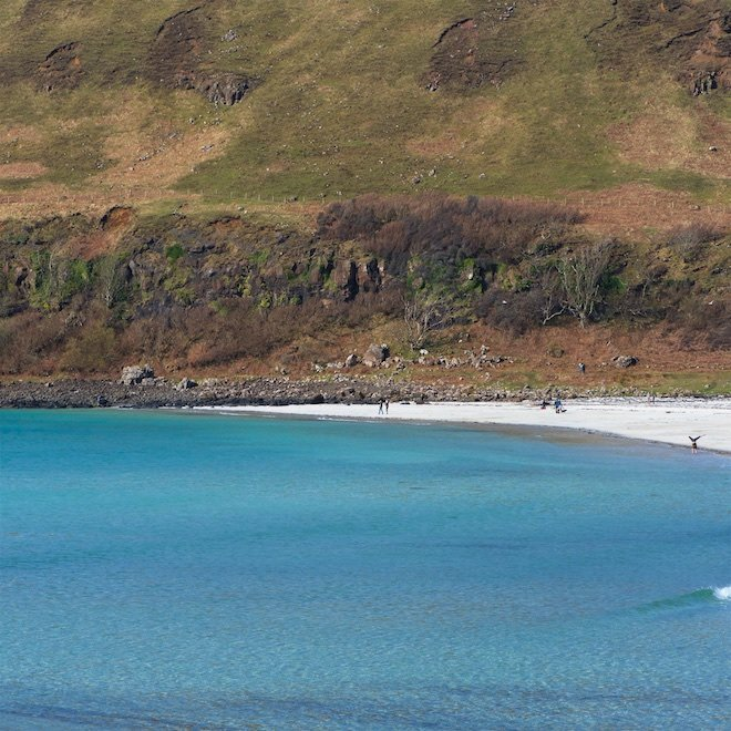 April holidays on Mull Treshnish Cottages Calgary Beach