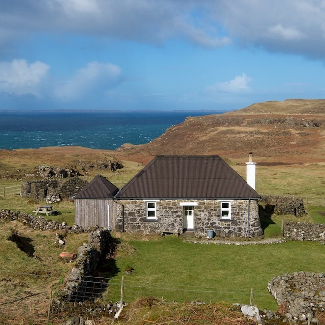 What3Words West Cottage Haunn Mull