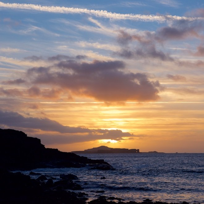 winter breaks on mull how best to prepare haunn cottages sunset